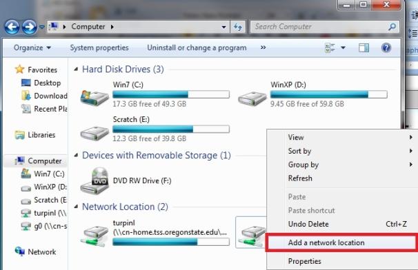 Create MyCN Shortcuts (Windows)   CN Desktop Support, Tech