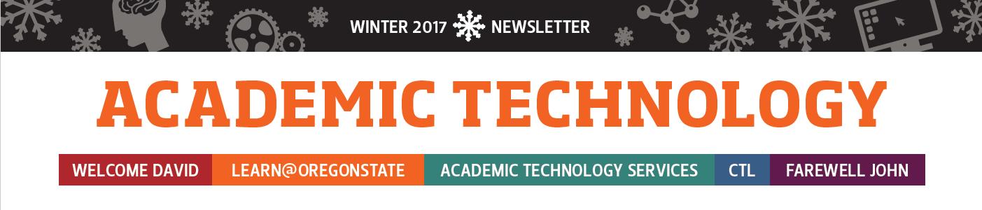 Academic Technology Newsletter 2017