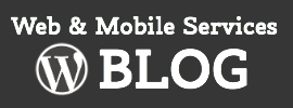 web and mobile services wordpress blog