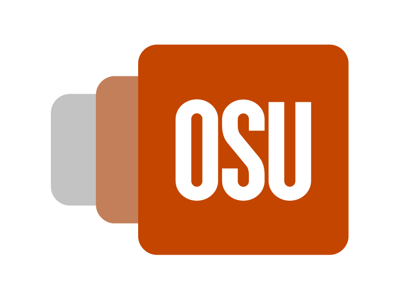OSU Mobile icon progression graphic
