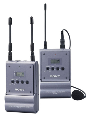 Sony UTX Wireless Microphone System