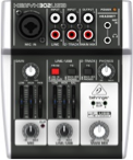 Behringer 3 Channel USB Mixer