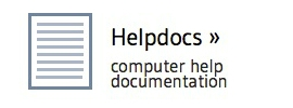 helpdocs - computer help documentation