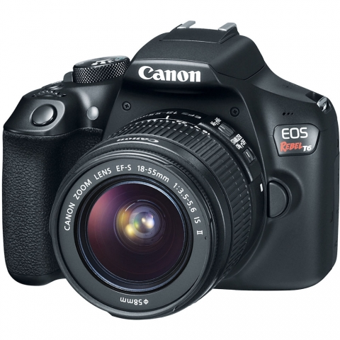 Canon Rebel T6 Camera