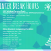 winter break 2015 hours