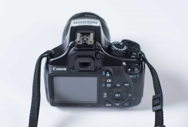 Canon Rebel T3 back