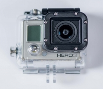 GoPro Camera with Case