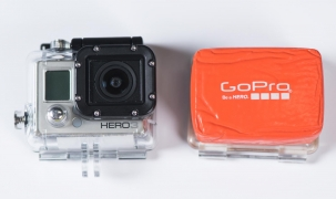 GoPro Camera with Floating Case
