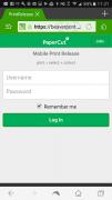mobile release login